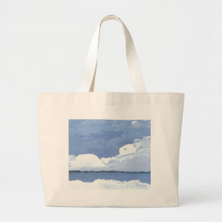 Peace Blue Ocean Seascape Sky CricketDiane Canvas Bag