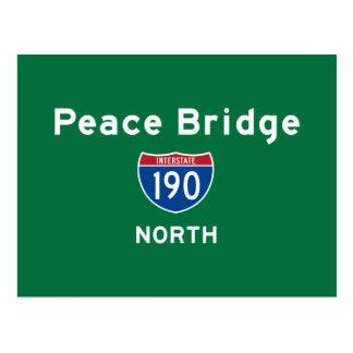Peace Bridge 190 Postcard