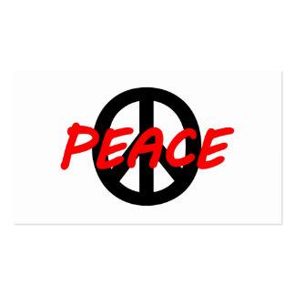 Peace Business Card Templates