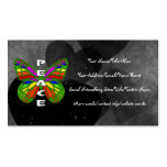 Peace Butterfly Business Card