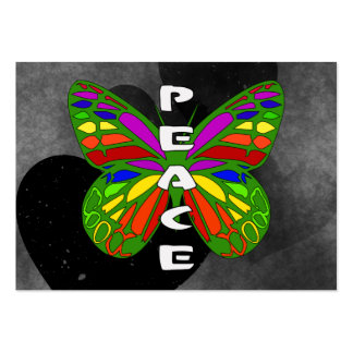 Peace Butterfly Business Card Templates