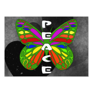 Peace Butterfly Card