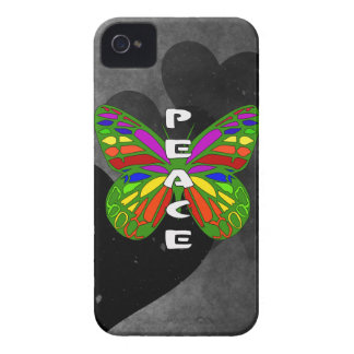 Peace Butterfly iPhone 4 Case