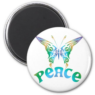 PEACE Butterfly Magnet
