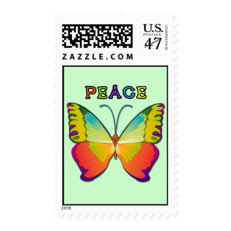 PEACE BUTTERFLY POSTAGE