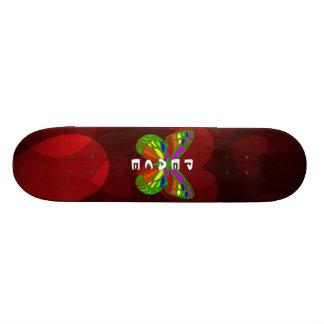 Peace Butterfly Skate Board