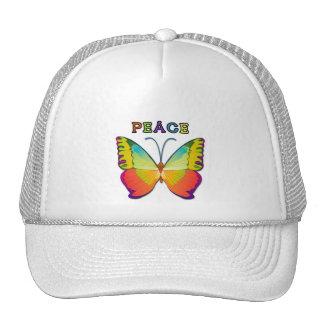 PEACE BUTTERFLY TRUCKER HAT