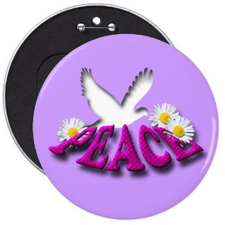 Peace Button