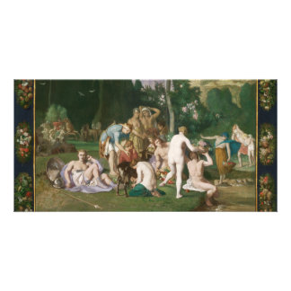Peace by Pierre Puvis de Chavannes Photo Card