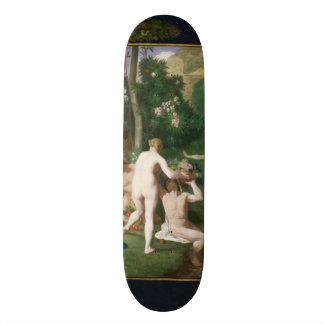Peace by Pierre Puvis de Chavannes Skateboard