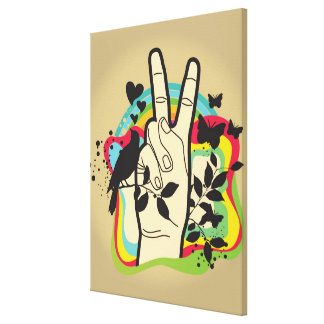 Peace Gallery Wrapped Canvas
