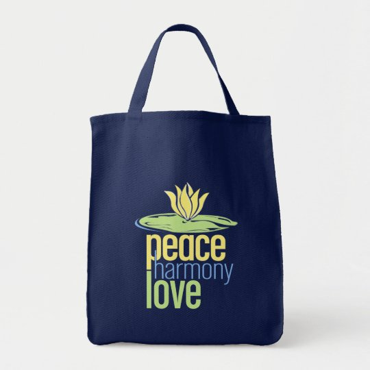 Peace Canvas Tote Bag