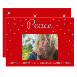 Peace Card at Zazzle