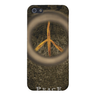 PEACE CASE FOR iPhone SE/5/5s