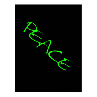 PEACE CAUSES SHOUT-OUTS MOTTO MOTIVATIONAL EXPRESS POSTCARD