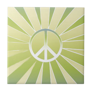 Peace Ceramic Tile