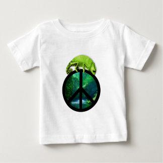 peace chameleon baby T-Shirt