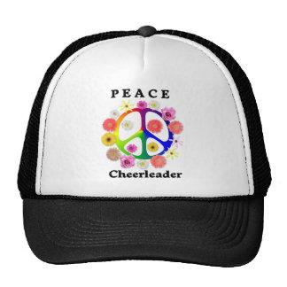 Peace Cheerleader Trucker Hat