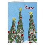 """""""Peace"""" Christmas Card"""