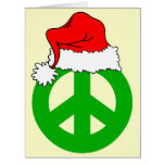 Peace Christmas Large Greeting Card