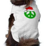 Peace Christmas Pet Clothing