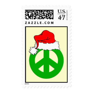 Peace Christmas Postage