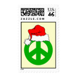 Peace Christmas Stamps