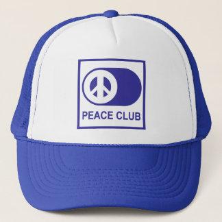 Peace Club Trucker Hat