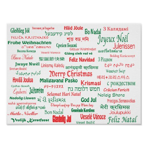 how to say merry christmas in 100 different languages