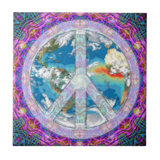 Peace - Coexist Tile