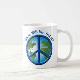 Peace Coffee Mugs