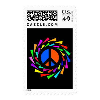 PEACE COLORS POSTAGE