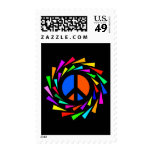 PEACE COLORS STAMP