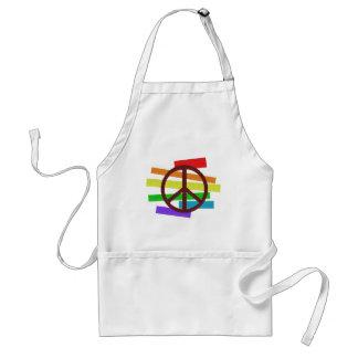 peace colour flag cloth-like apron