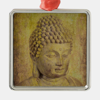 Peace Comes from Within Buddha Quote Metal Ornament