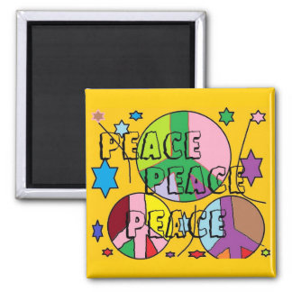 peace connections magnet
