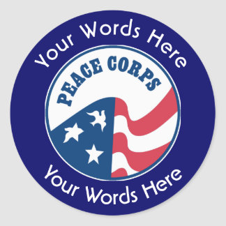 Peace Corps Custom Sticker
