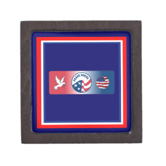 Peace Corps Dove Shield Premium Gift Box