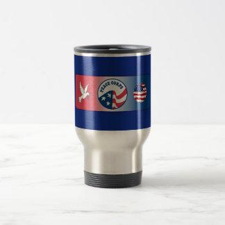 Peace Corps Dove Shield Travel Mug