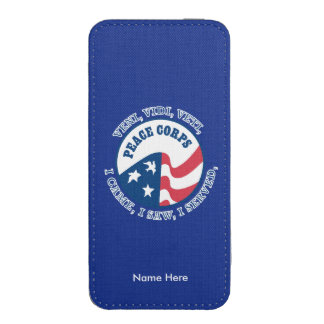 Peace Corps iPhone SE/5/5s/5c Pouch