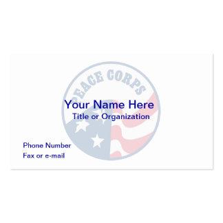 Peace Corps Logo Business Card