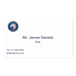 Peace Corps Universal Rope Shield Business Card
