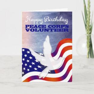 Peace Corps Volunteer Happy Birthday Card