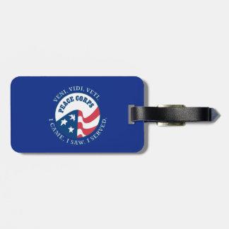Peace Corps VVV Shield Luggage Tag