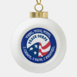 Peace Corps VVV Shield Ornament