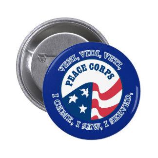 Peace Corps VVV Shield Pins