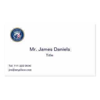Peace Corps VVV Universal Shield Business Card