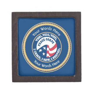 Peace Corps VVV Universal Shield Premium Keepsake Boxes