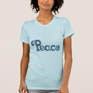Peace Cross Stitch Pattern T-Shirt