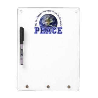 PEACE custom message board